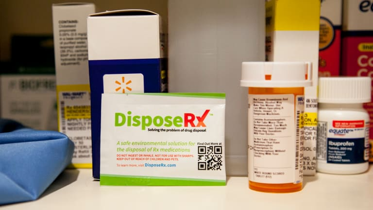 Walmart Now Offers Free Opioid Disposal Solution in All of Its Pharmacies