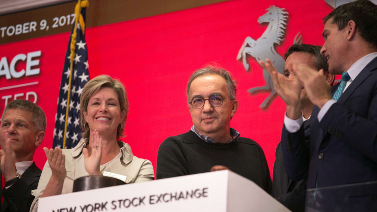 Sergio Marchionne in His Own Words: Why Ferrari's IPO Has Been So Successful