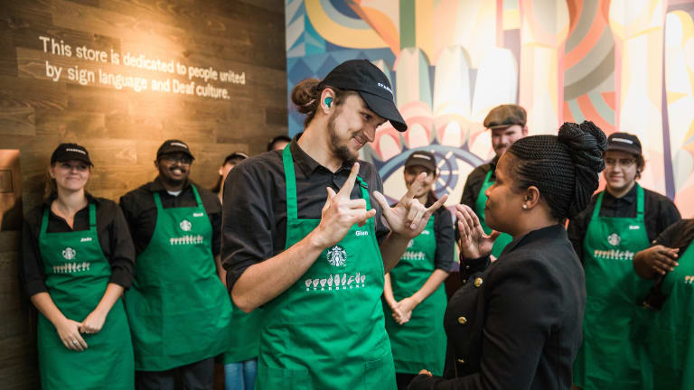 Starbucks Opens Shop for Deaf, Hearing Impaired