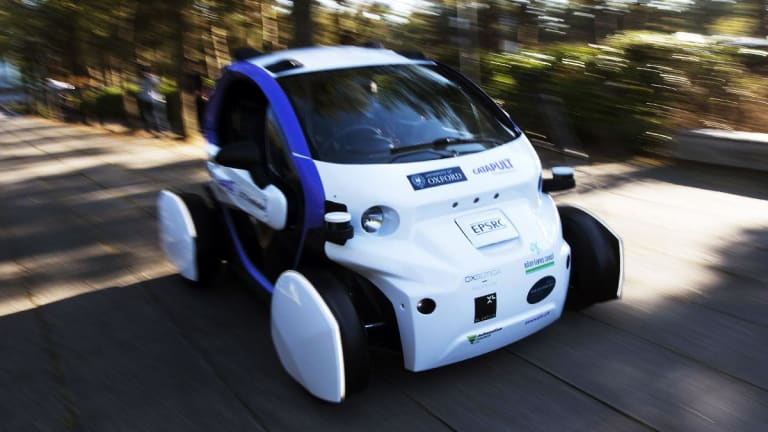 5 Insane Autonomous Vehicles You Have to See