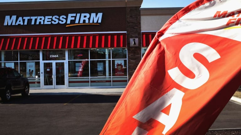 Tempur Sealy Dips After Rival Mattress Firm Files for Bankruptcy