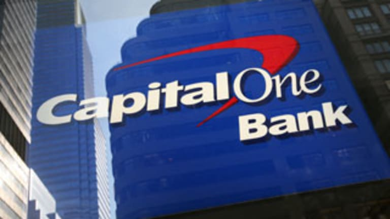Capital One: 'Crushed It' Quarter Winner