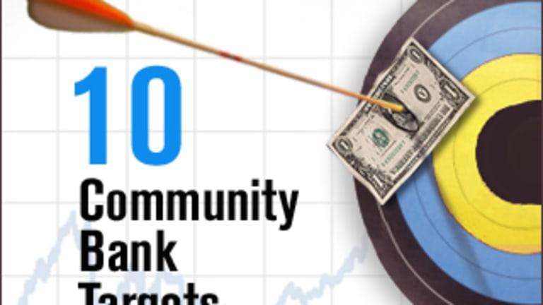 10 Community Bank M&A Targets