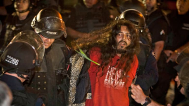 Over 200 Occupy Los Angeles Protesters Arrested