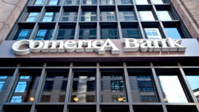 Comerica Misses, but Loans Grow