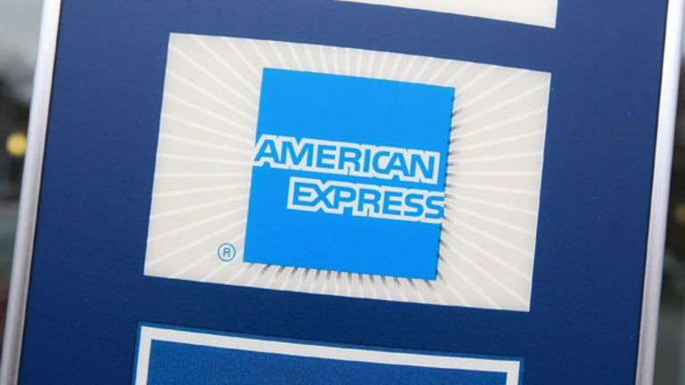 American Express Surges While IBM Goes to the Earnings Woodshed
