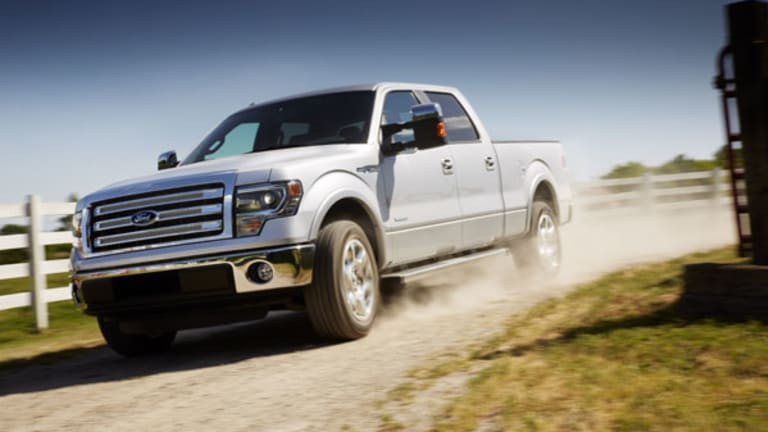 Pickup Demand Helps Ford, GM and Chrysler to May Gains
