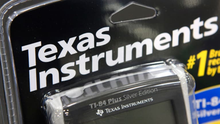 Texas Instruments Guides Low on Semi Weakness
