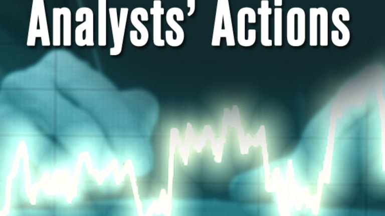 Analysts' Actions: AGN AOS COG ETFC LLY
