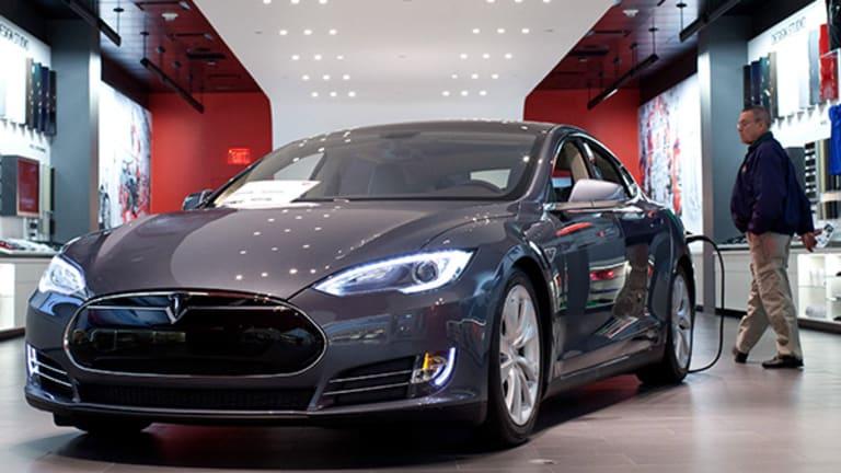 Here's What It Looks Like Inside Tesla's Massive Factory