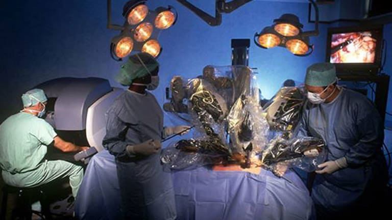 Intuitive Surgical Stock Downgraded at Canaccord