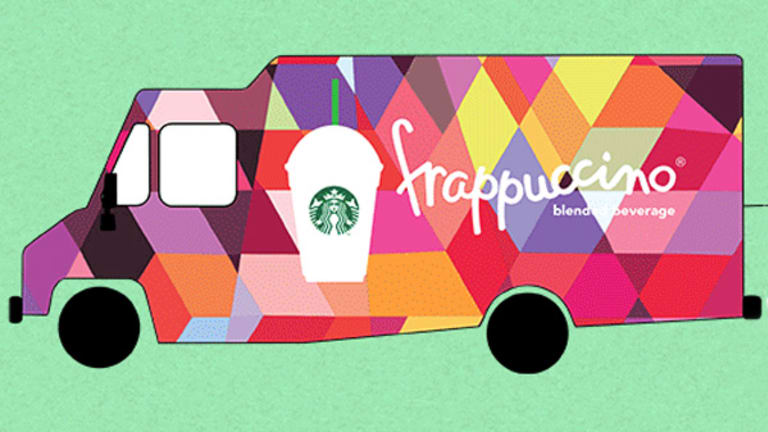The Top Secret Starbucks Frap Truck Is on the Move