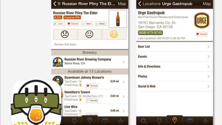 Beer Apps Like TapHunter Put Data On Tap