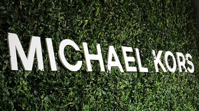 Michael Kors Gets Frothy as Brown Shoe Poised for Higher Levels