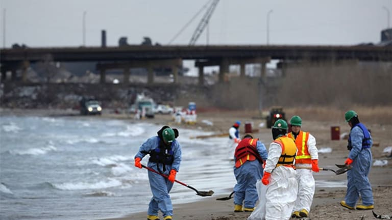 BP Shares Outperform As Lake Michigan Oil Spill Estimate Doubles