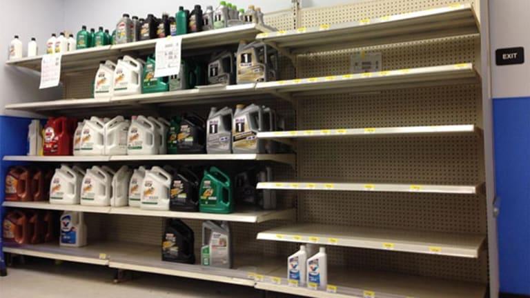 Empty Shelves, Broken Promises at Walmart, Kmart, Sears