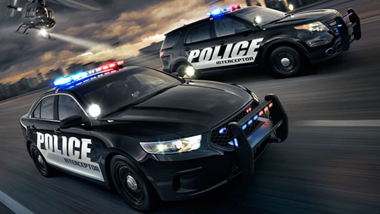 Sozzi: The New Ford Police Interceptor Car Is an Intimidating Animal