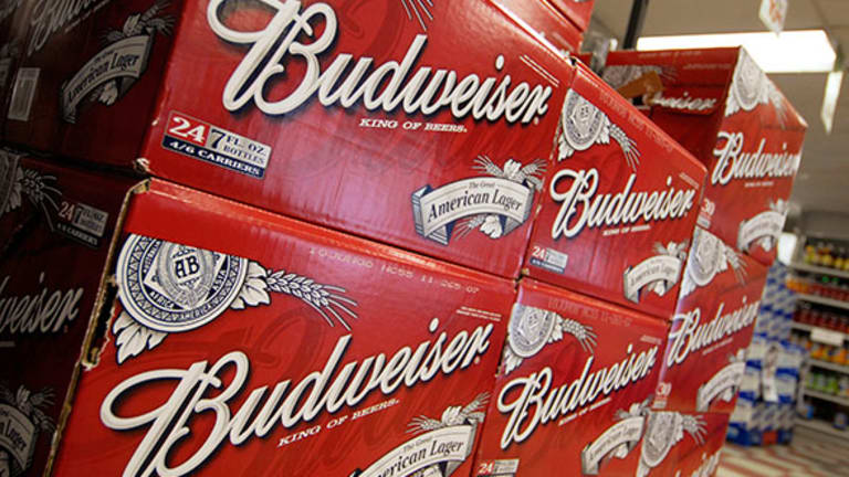 Anheuser-Busch Gives Global Reach to Beer-Loving Investors