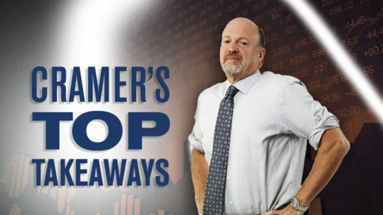 Jim Cramer's Top Takeaways: ConforMis, Paychex, Lennar, Toll Brothers