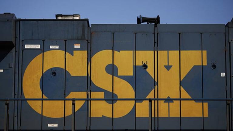 CSX Jumps After Activists Team to Target Railroad -- Plus Jim Cramer's Take