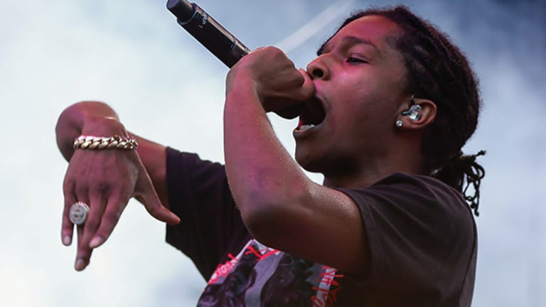 Under Armour Partners With A$AP Rocky As It Tries to Become Cooler