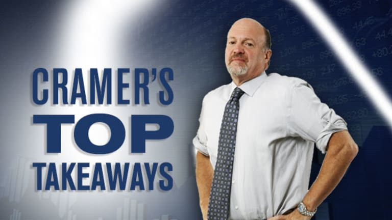 Jim Cramer's Top Takeaways: Occidental Petroleum, CytomX Therapeutics