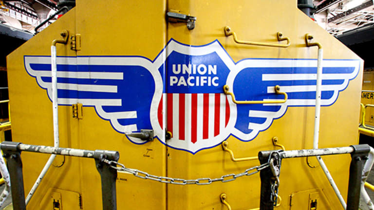 Jim Cramer -- International Paper, Union Pacific Are Red Flags on Economy