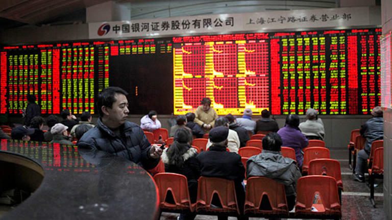 World Markets Ignore Shanghai Composite's 5.5% Drop on Black Friday