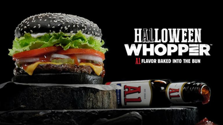 Here's What Burger King's New Black Whopper for Halloween Tastes Like