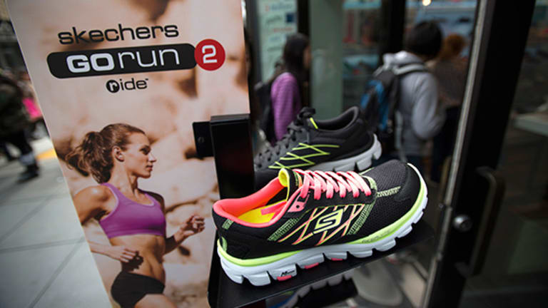 Skechers Stock Up, Launches Line of Athleisure Shoes