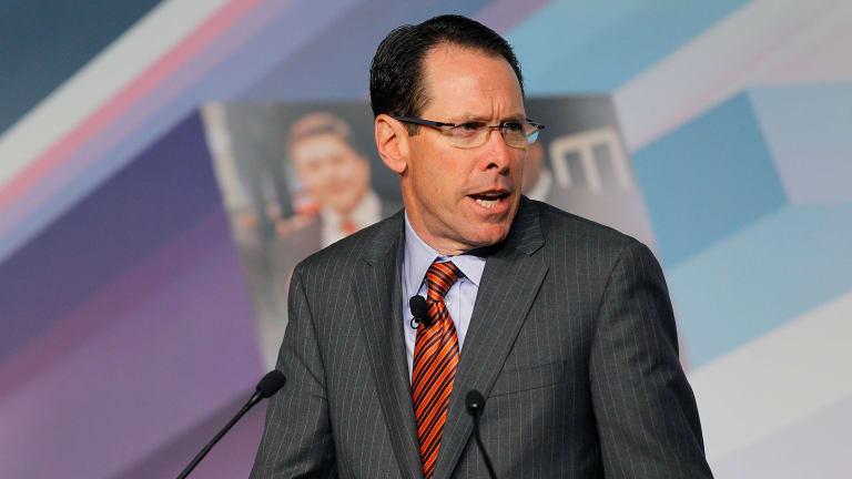 AT&T (T) CEO Stephenson Tackles Regulation Concerns in Time Warner Deal