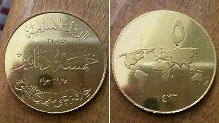 Islamic State's New Dinars Help Take Its 'Caliphate' Back to Dark Ages