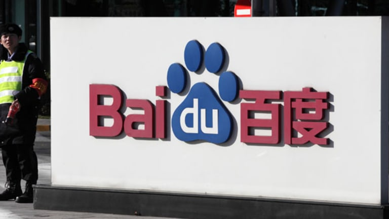 Cramer -- Baidu Had One of the Worst Quarters Ever