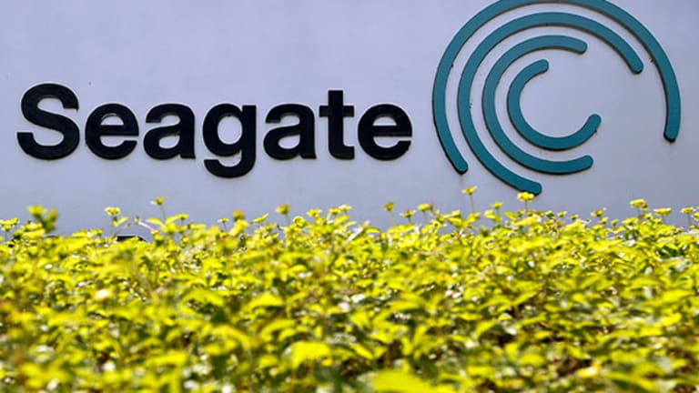 Seagate Technology (STX) Stock Higher, Brean Capital Ups Price Target