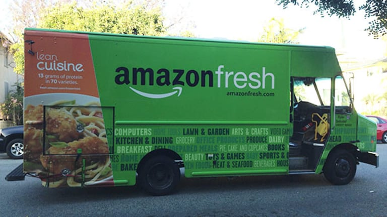 Amazon's Tie-Up With Big UK Supermarket Signals Stronger Push Into Groceries