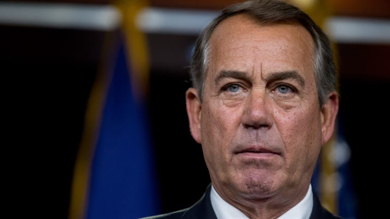 Boehner's Resignation Dims Hopes for Bank Regulatory Relief