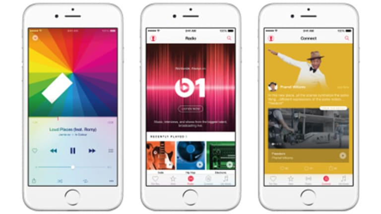 Apple Sets Sights on Music With New Streaming Service