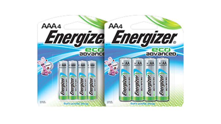 Energizer Introduces 'EcoAdvanced' Batteries With Recycled Material