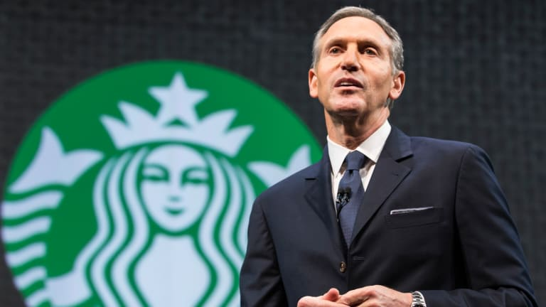 The Presidential Election Is Clearly Weighing On Starbucks CEO Howard Schultz