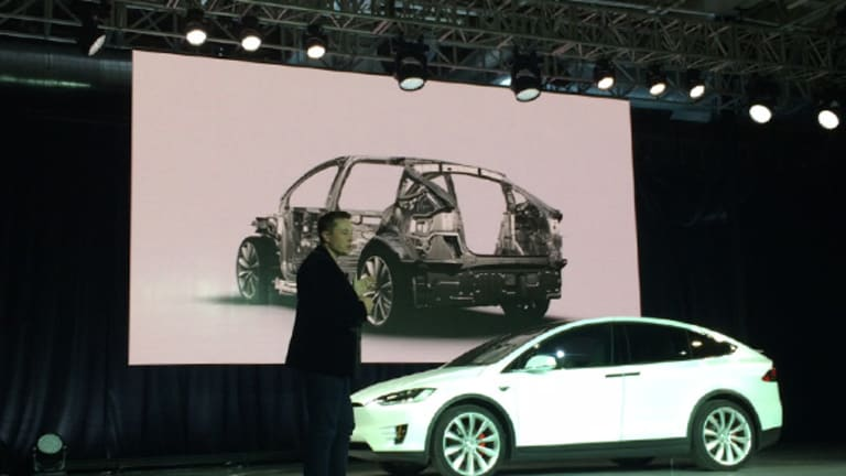Tesla Showed Off the Model X -- Now Here's Every Version of It