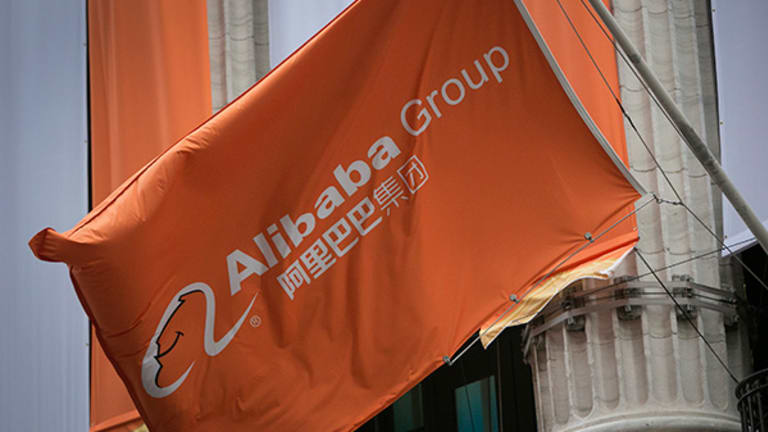 Alibaba Shares, Down 45% From Their Peak, Have Had A Wild First Year