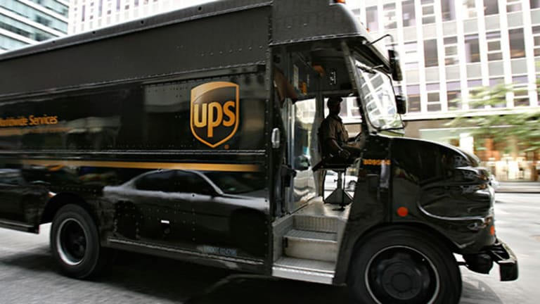 UPS Stock Declined Today on Ratings Downgrade