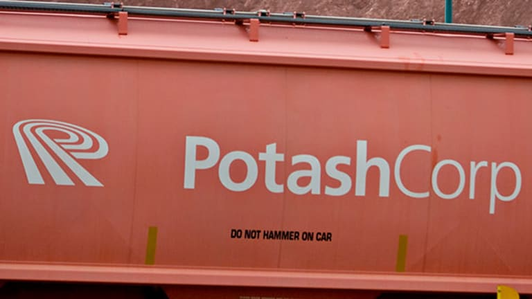 Potash (POT) Stock Jumping Amid Agrium Merger Speculation