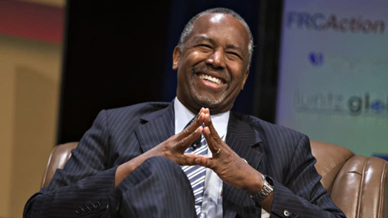 4 Stocks Set to Soar With Ben Carson in the White House