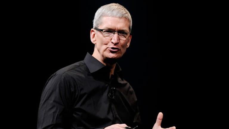 Apple Shares Slide on Goldman Sachs' Price Target Cut, but Move Gets Cramer's Respect
