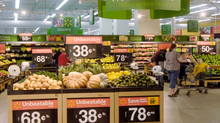 Walmart Redesigns Grocery Departments Ahead of More Competition From Amazon