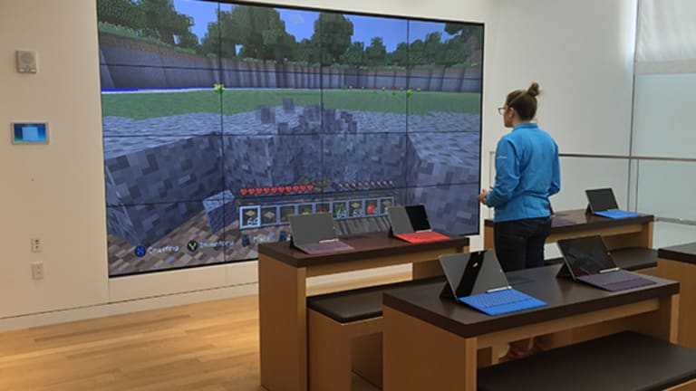 Microsoft Encroaches on Apple's Turf -- Literally -- With Huge New Flagship Store