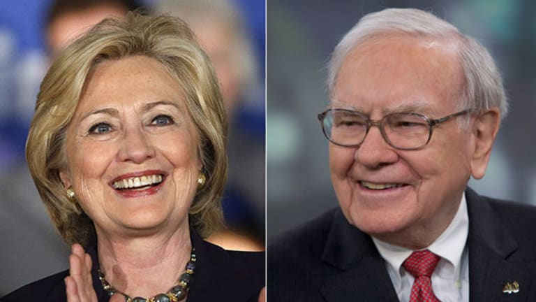 How Warren Buffett Will Help Solve Hillary Clinton's Wall Street Problem