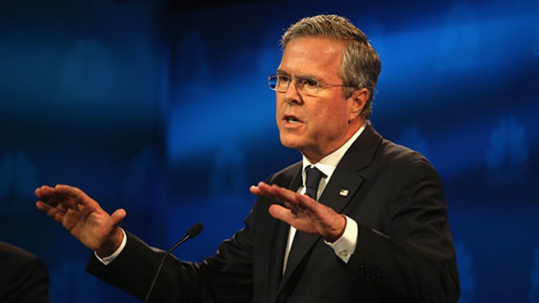 Did Jeb Fade Into the Background -- Again -- at #GOPDebate?