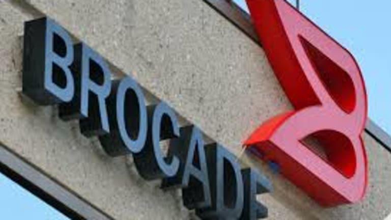 Brocade Should Climb on Projected Telecom Spending Increase